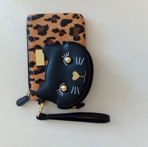 LUV BETSEY wallet and sunglasses case